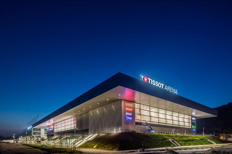 Neubau Tissot Arena